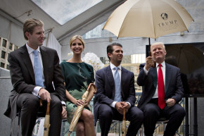 Trump Says He'll Leave His Businesses, But Not How