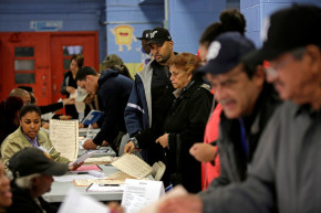 Voting Lines Are Already Sprawling Across America