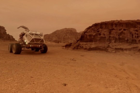 Move Over Matt Damon, There's A New Martian On The Red Planet