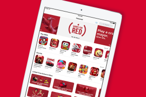 Apple Goes Red For World AIDS Day