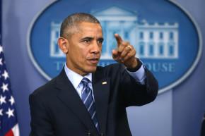 Obama Points Finger At Putin Over U.S. Election Hacking