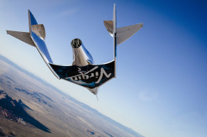 Virgin Galactic's New Plane Soars On Its Solo Glide