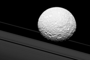 Saturn's Moon Looks Exactly Like The Death Star
