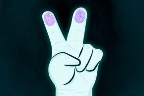 Peace Sign Selfies Could Get Your Fingerprints — And Identity — Stolen