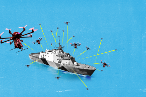 U.S. Navy Is Developing Smart Bullets To Take Out Drone Swarms