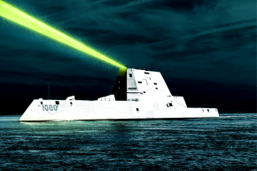 Super Laser Weapons Are Coming To Navy Ships By 2018