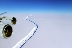 Iceberg Bigger Than Rhode Island About To Break Off From Antarctica