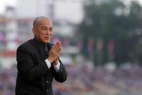 A Photoshop Job Of Cambodia's King May End In Arrest