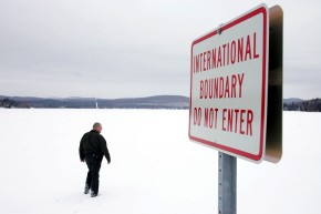 Refugees Are Crossing The U.S. Border Into Canada