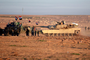 Iraq Pushes To Retake ISIS Stronghold In Mosul
