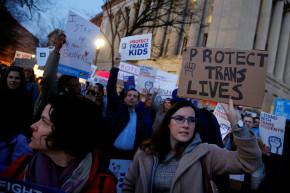 Hundreds Of Thousands Tweet To #ProtectTransKids