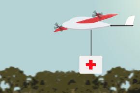A Fleet Of Life-Saving Semi-Autonomous Flying Robots