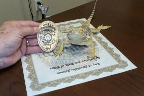 Arizona Cops Just Deputized A 'Drug-Hunting' Lizard