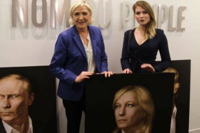 Le Pen's Russian Admirer Live Tweets From France