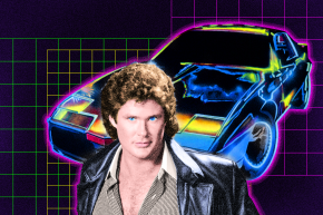 David Hasselhoff Is Hasselbot, A Character Written By A.I.