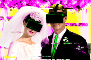 This Couple Just Got Hitched In A Surreal Virtual Reality Wedding