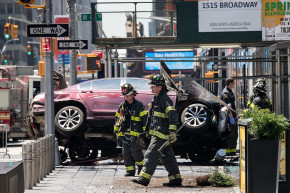 One Way To Prevent A Times Square Car Crash? Ban Cars