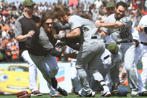 Baseball Fights Are Dumb And Buster Posey Is Smart