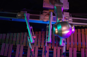 This Robot Composes Its Own Marimba Music