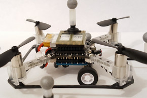These Drones Can Drive And Fly