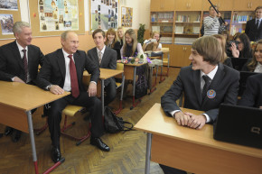 In Russia, Geography Class Has Heavy Dose Of Patriotism