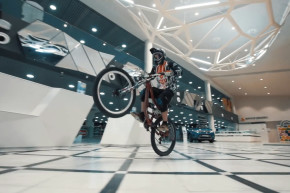 This Mountain Bike Race Was in A Russian Shopping Mall