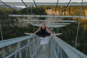 Would You Let Your Child Dance Ballet 650 Feet In The Air?