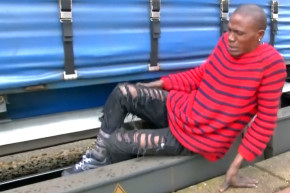 Migrants Hide Underneath 100 MPH Trains Going To Germany