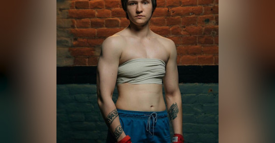 This Russian Female Boxer Fights As A Man