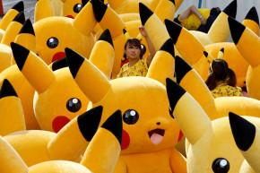 Hundreds Of Pikachus Parade Down Japanese Street
